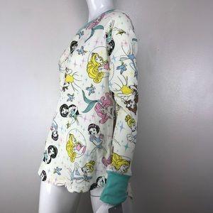 Disney Intimates & Sleepwear - Disney Princess Waffle Thermal Long Sleeve Shirt